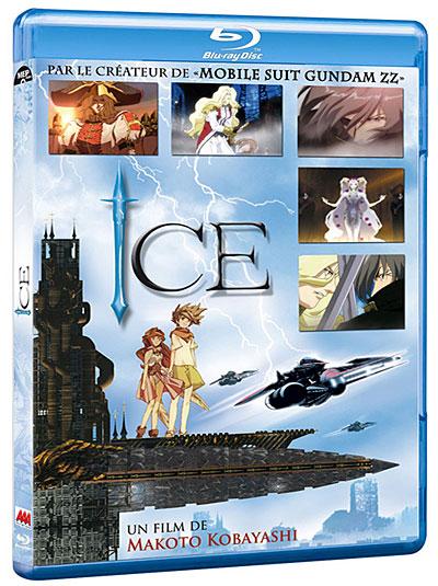 La série d'OAV ICE en DVD et Blu-ray