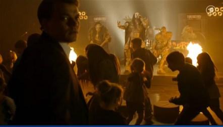 In Europa dürfen Lordi kleine Kinder bespaßen. Wir sagen: Das war spitze!