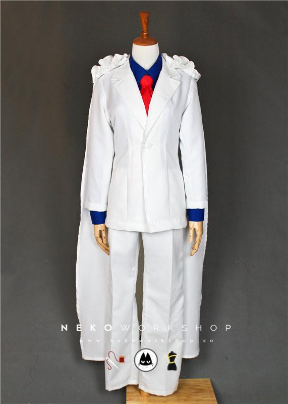 Magic Kaito Detective Conan Kaitou Kid Cosplay Costume