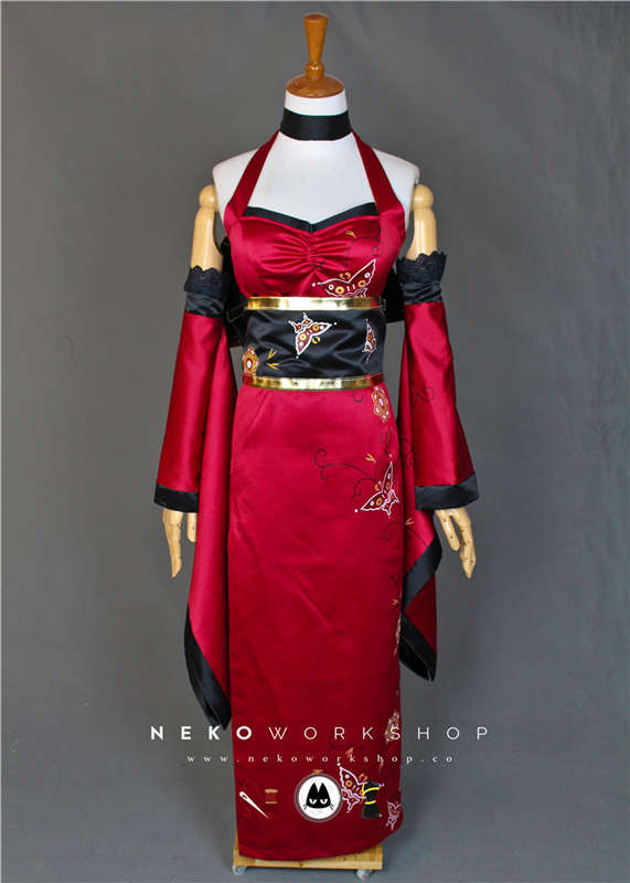 resident evil 4 ada wong butterfly dress cosplay costume