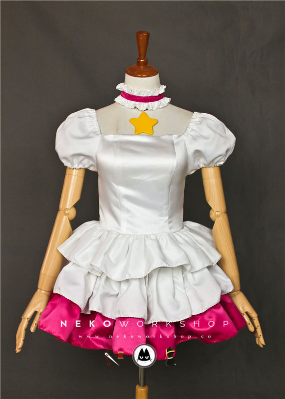 cardcaptor sakura kinomoto cosplay costume dress platinum star