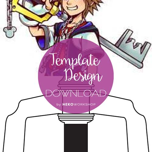 kingdom hearts sora keyblade blueprint template