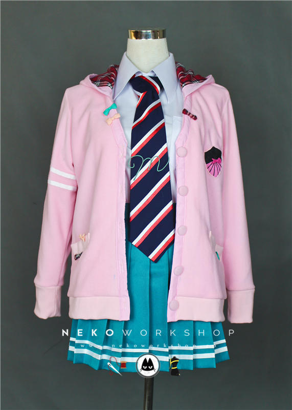 vocaloid project diva miku ribbon girl cosplay costume