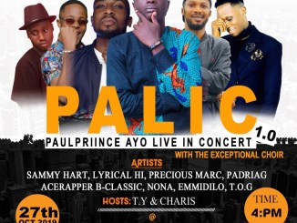 Paul prince ayo live in concert