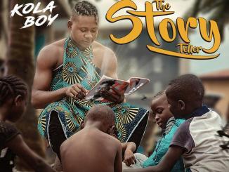 Kolaboy The Story Teller EP artwork
