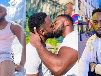 Bolu Okupe and his gay lover, Mfaomé breaks up; deletes all their loved-up photos and videos