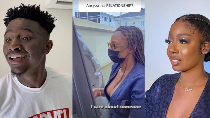 Instagram comedian, Nasty Blaq sparks dating rumors with BBNaija star, Tolanibaj (photos)