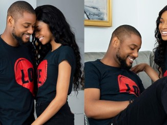 """""""This is the last birthday you will bear this surname"""" – Actor, Alex Ekubo tells fiancée, Fancy Acholonu as he celebrates her on her 30th birthday"""