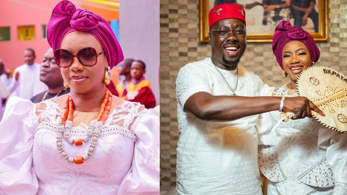 """""""Stop the hate and celebrate God's grace upon his chosen one"""" – Obi Cubana's wife, Ebele Iyiegbu reacts to vile comments about her husband's wealth"""