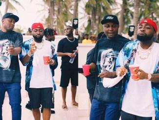 """Help me beg my Oga not to sack me,"" Singer Davido's PL Manager, Israel, begs Nigerians"