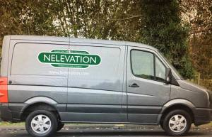 Nelevation delivery van