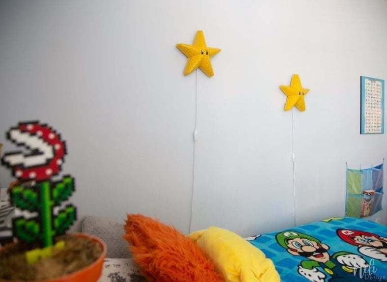 Mario Brothers Room Light