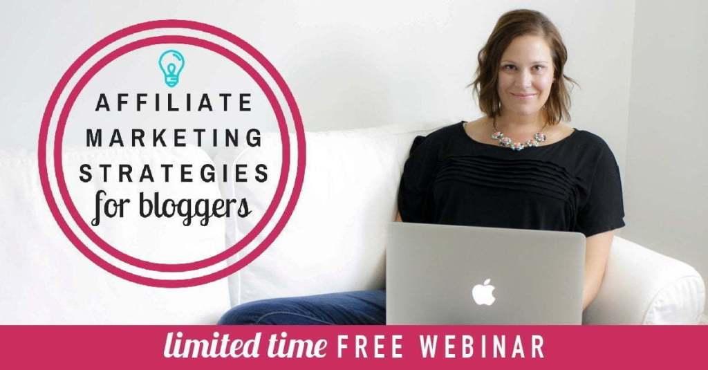 Free webinar Affiliate Marketing