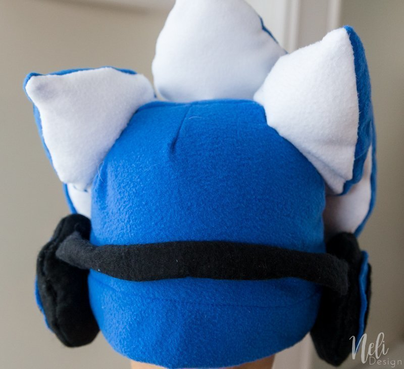 Splatoon 2 | Kid Halloween Costume | Cosplay | Inkling boy costume | blue | headphones | shirt | Ink tank | DIY | Tutorial | garçon