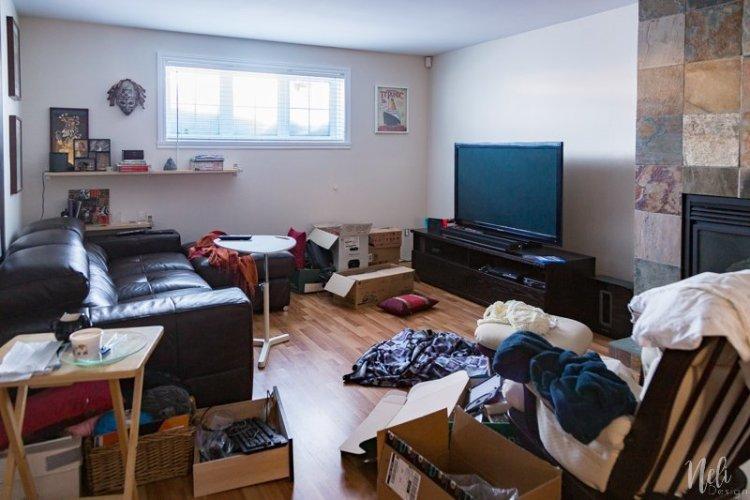 $ 100 Room Challenge, family room makeover, decor budget, DIY, tutorial, home decor, renovations, family room update, budget, economic, challenge, home decor