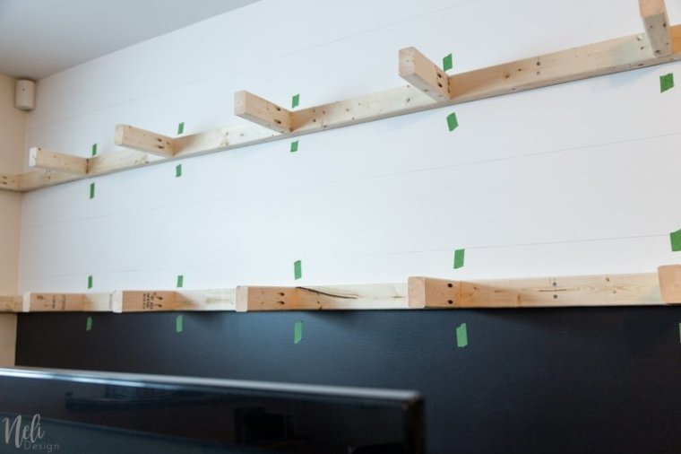 How To Make Very Long Floating Shelves NeliDesign Amazing How To Make Floating Shelves From Scratch