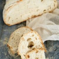 Pane senza impasto in pentola di ghisa