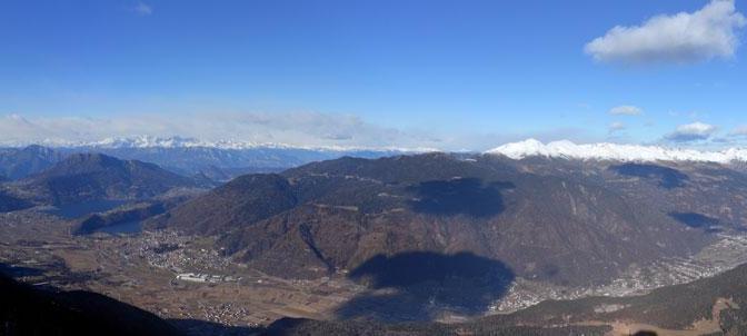 Cima Mandriolo da rifugio Larici: sempre alla ricerca della neve