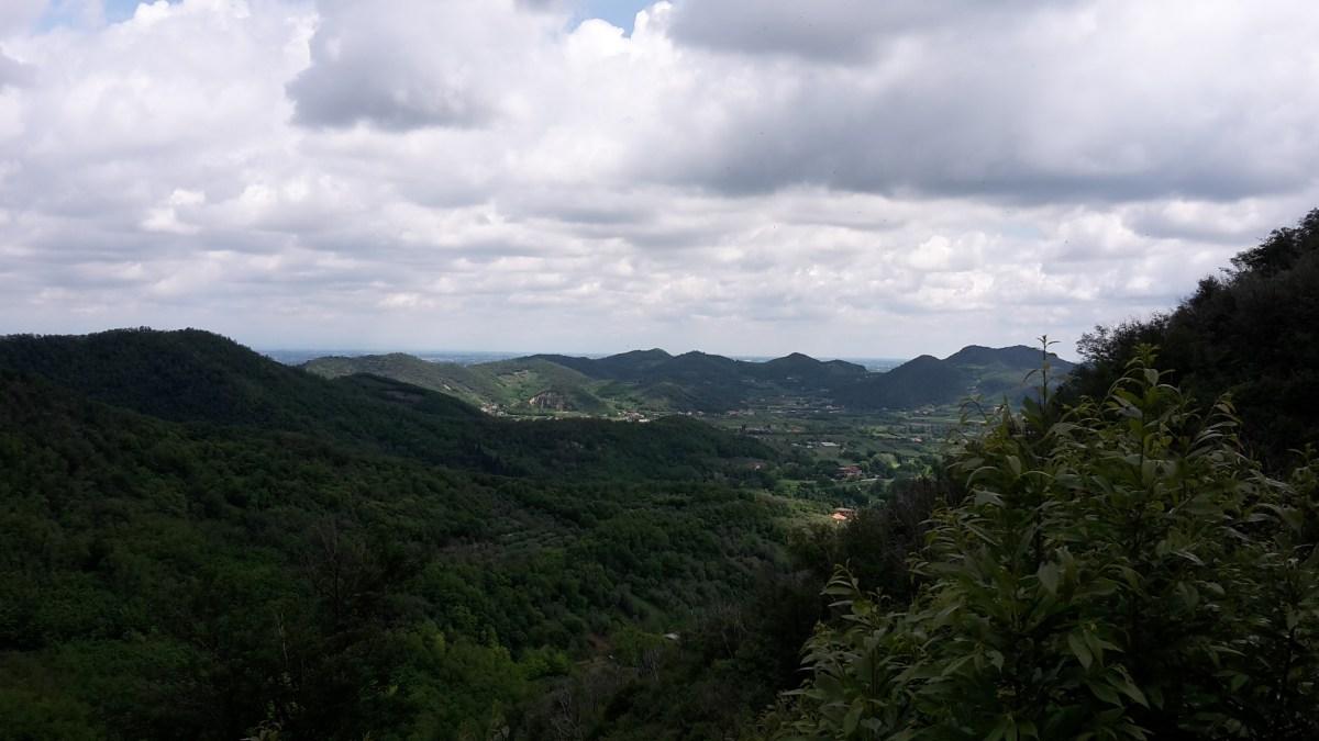 Sentiero atestino ad Arquà Petrarca (con ritirata strategica)