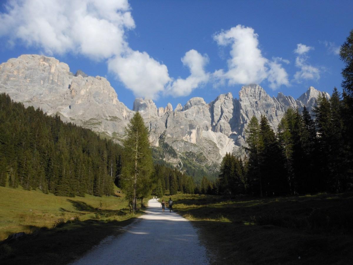 Rifugio Mulaz dalla Val Venegia: inizia tranquilla ma ti spacca dopo