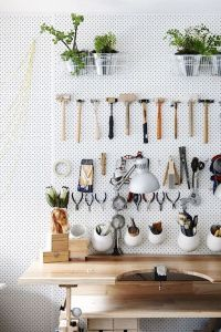 Una pegboard per la mia craft room