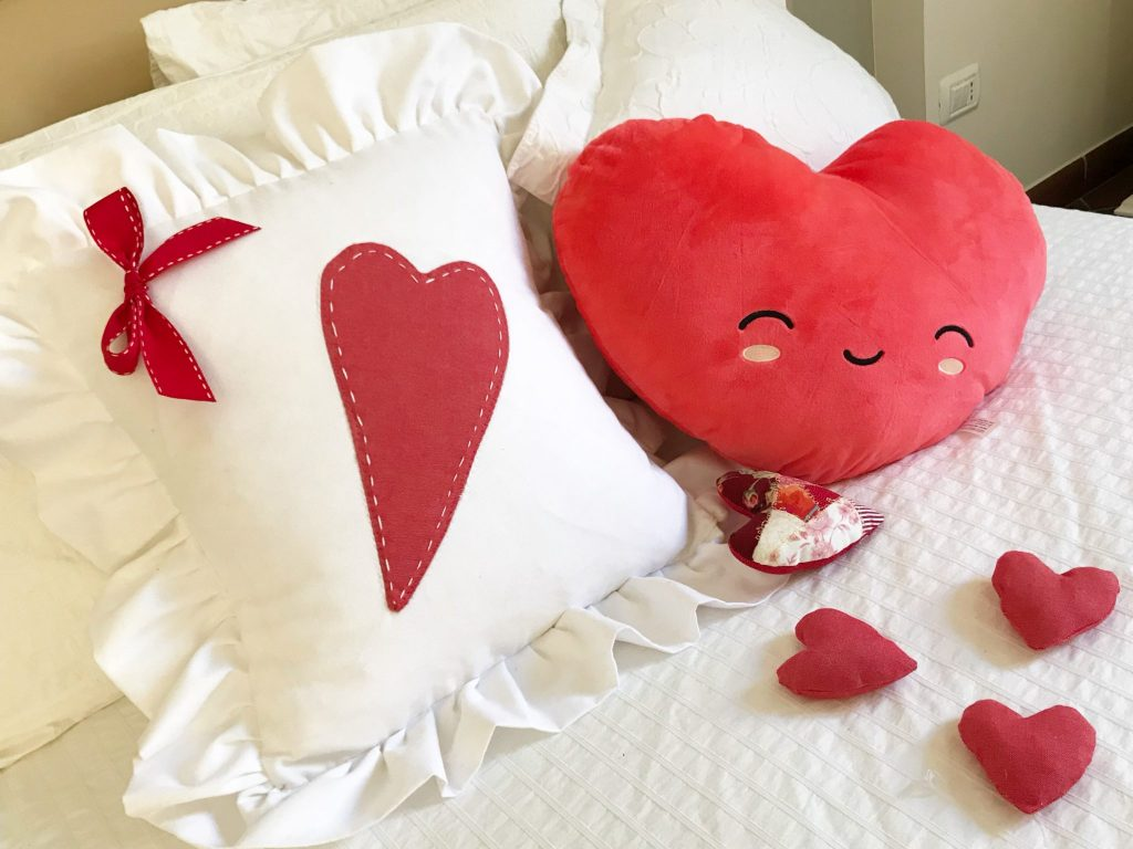 tutorial cuscino con cuore