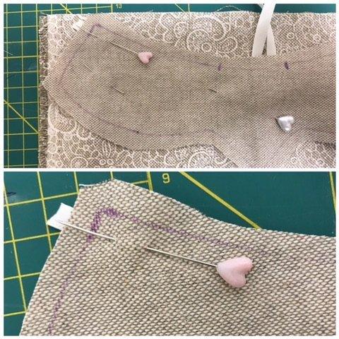 tutorial collana di stoffa