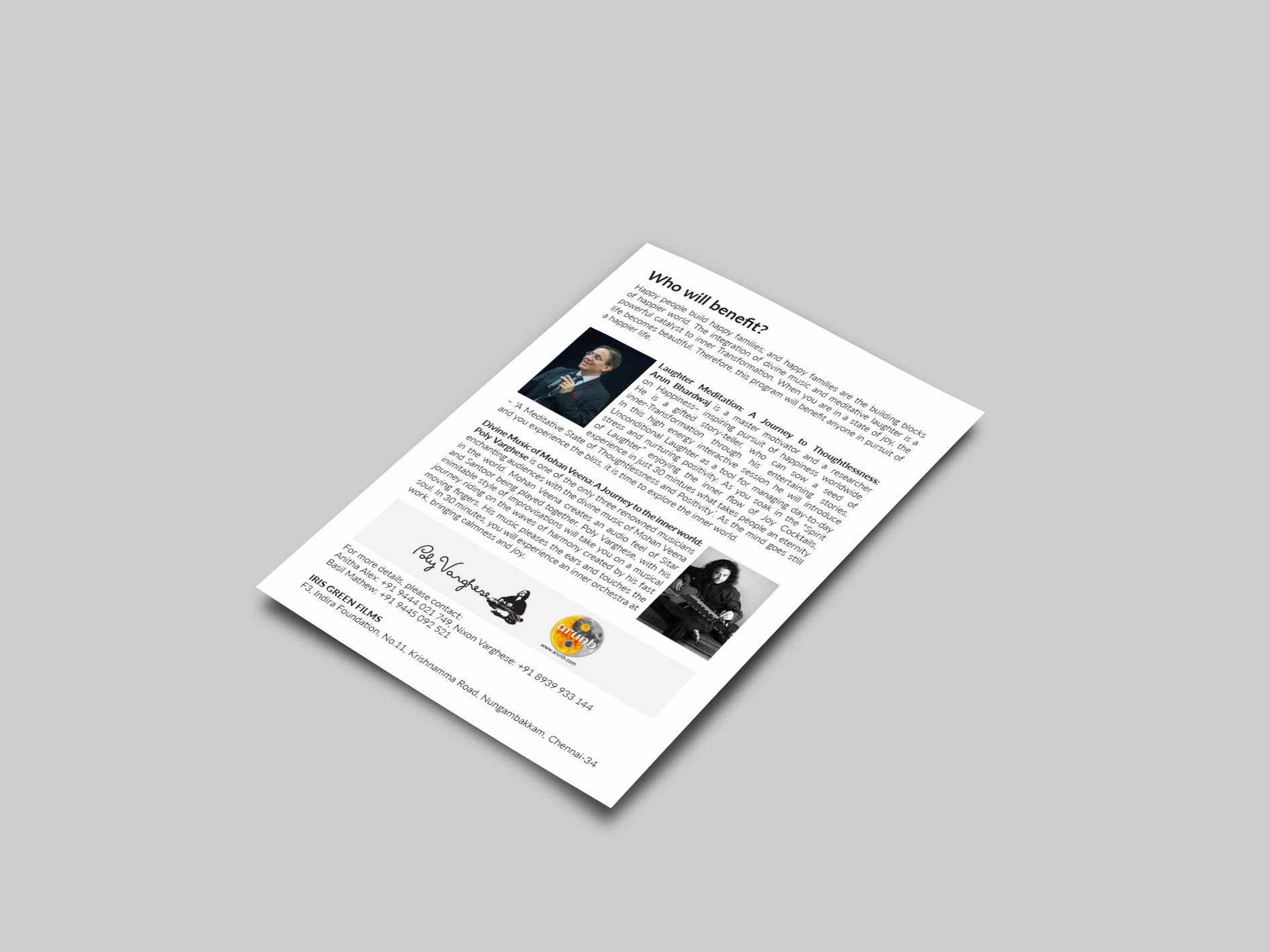 Brochure designer Trivandrum