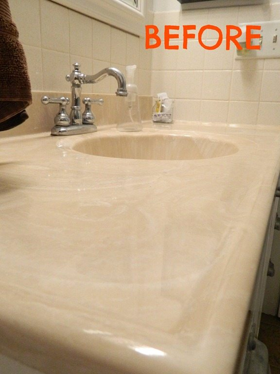 painting a sink an easy tutorial