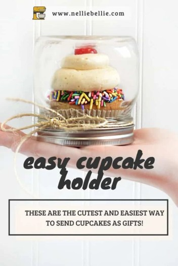 these are the easiest and cutest little cupcake holders!