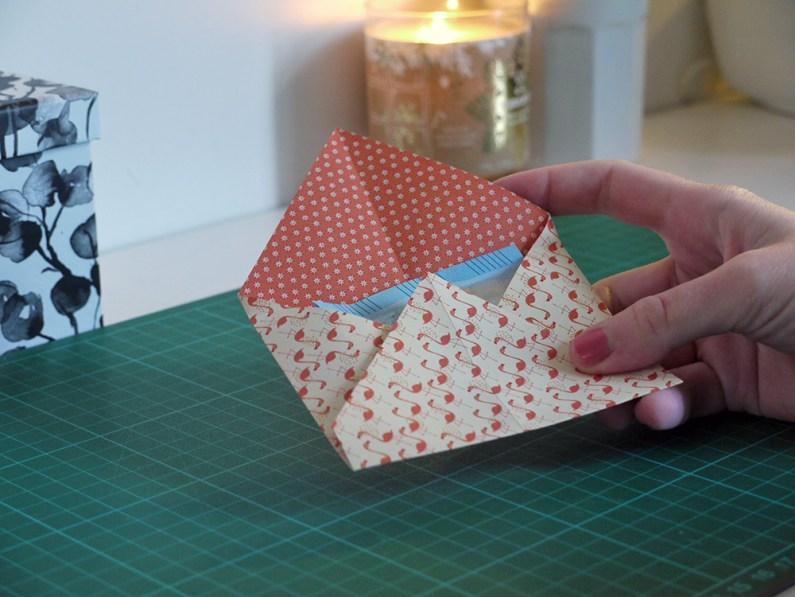 DIY de Noël : des enveloppes pour les étrennes