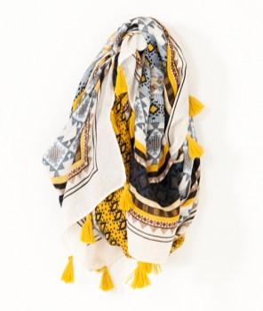 Etole motif éthnique, 17,99 euros, Camaïeu