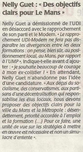 Le Mans - Nelly Guet