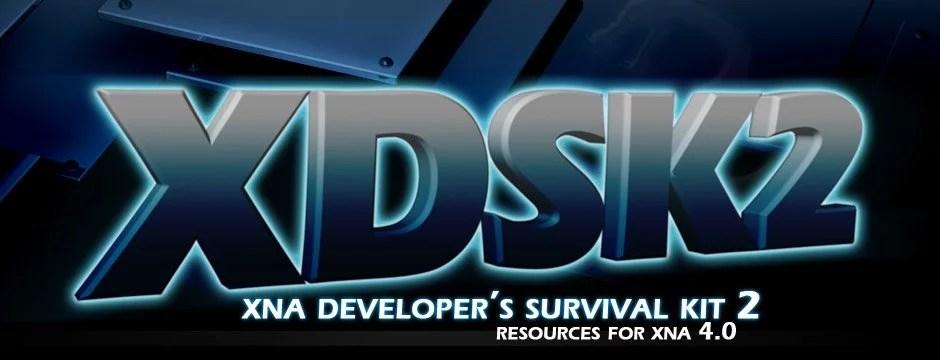 XDSK2 - XNA Developer's Survival Kit 2
