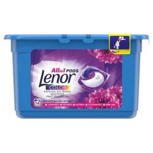 Kapsule na pranie Lenor all in 1 color 30 ks
