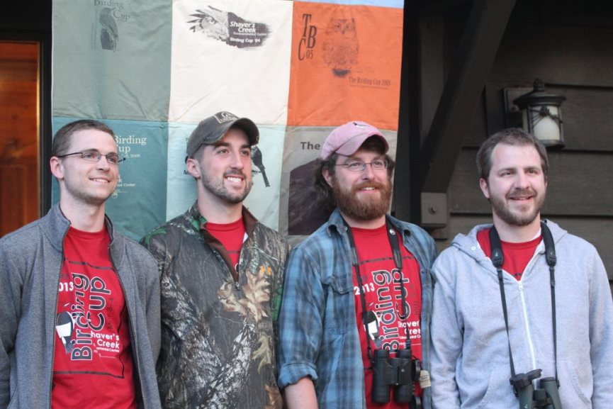 The Nemesis Birders at the finish line - photo by Craig Miller