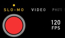 Sometimes you think your in Slo-mo and by mistake it did not slide all the way there. A good trick is to look for the 120FPS to lower right of red button.