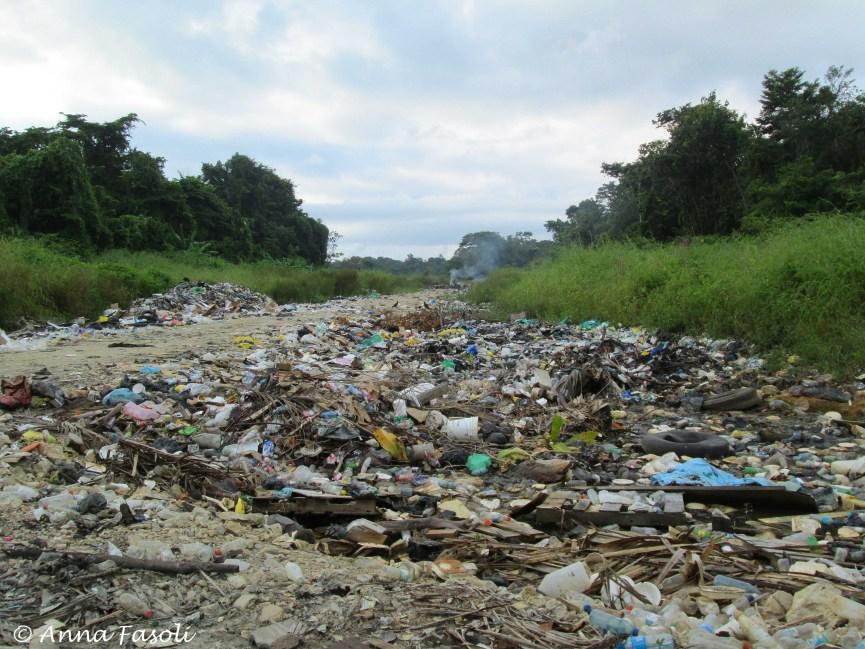 Main dump site