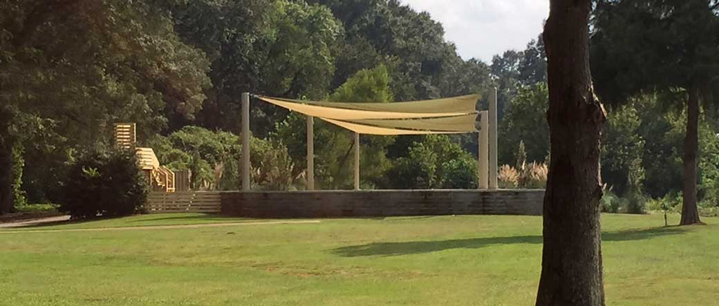 New Albany MS Riverview stage for Levitt concerts