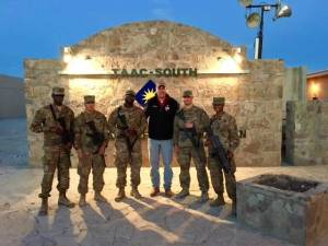 Serving our troops deployed overseas.