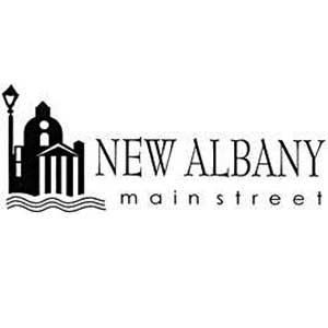 New Albany MS Main street logo