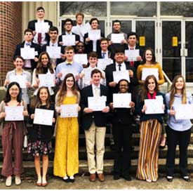 Career and Technical FBLA district winners