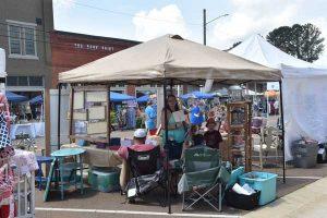 Union County MS Peach festival vendor