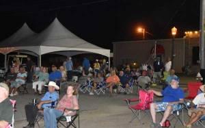Union County MS night crowd at Ecru MS Peach Festival