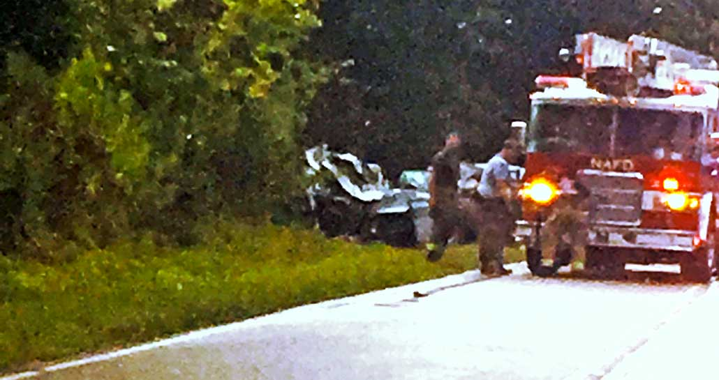 New Albany MS fatal wreck on Davis Road