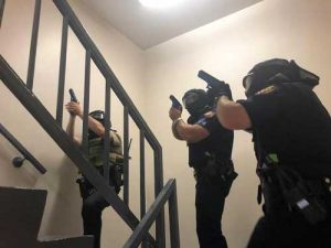 New Albany MS active shooter practice