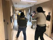New Albany MS Baptist hosp active shooter drill