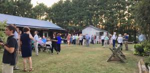 New Albany MS, Evening of Blues crowd