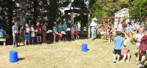 New Albany MS Barrel racing at heritage Pioneer Days 2019