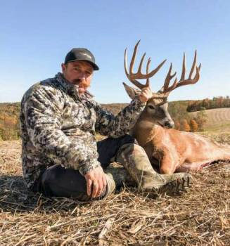 New Albany, MS Beau's Boone & Crockett trophy deer